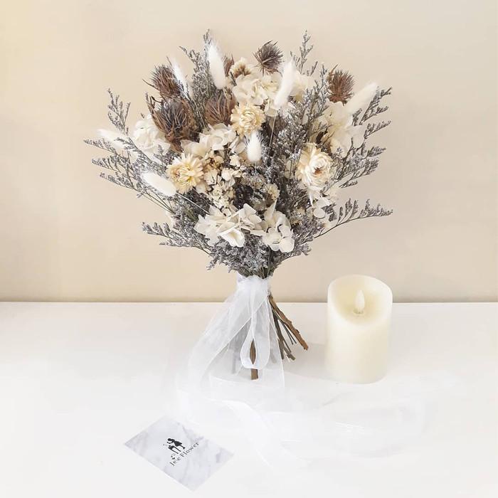 Jual Rustic Wedding Bouquet Buket Bunga Pernikahan Bunga