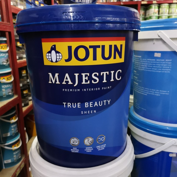 harga Cat tembok jotun majestic true beauty sheen 20 l cat tinting interior Tokopedia.com