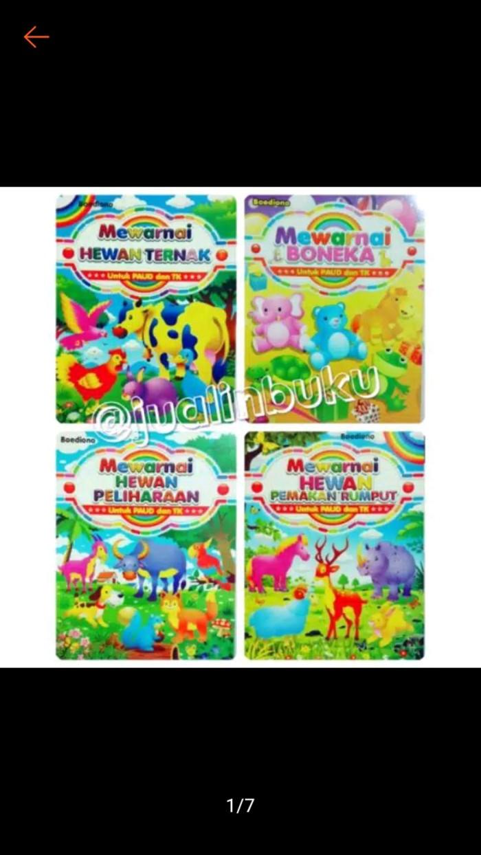 Jual TERJAMIN Buku Mewarnai Untuk TK Dan Paud Ukuran Besar MANM Kota Surabaya Greenlight Mart
