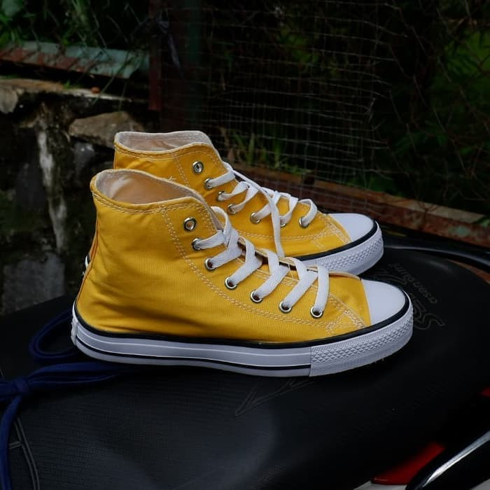 Jual Puma Sepatu Fashion Pria Sepatu Converse All Star Kuning