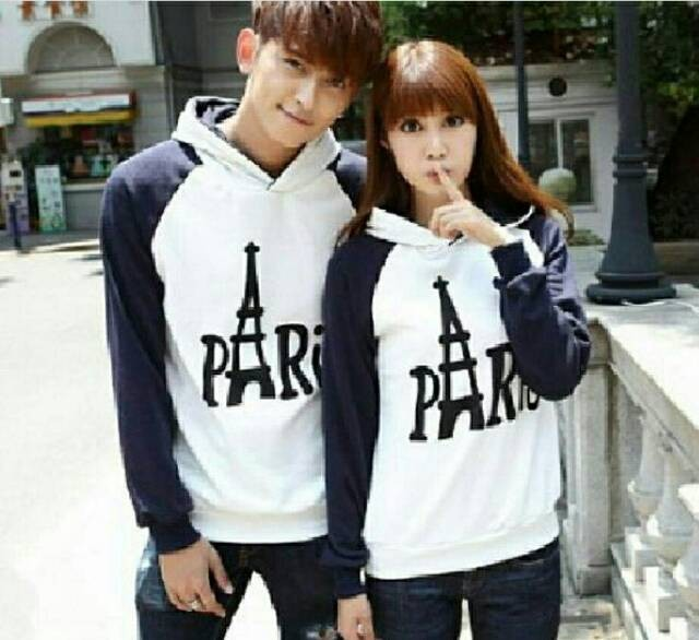 Sweater Couple / Sweater Pasangan Paris