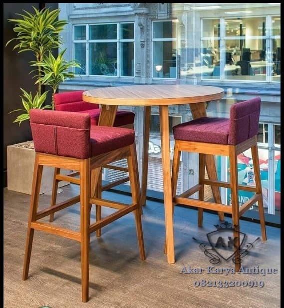 Jual Set Kursi Cafe Kursi Cafe Murah Kursi Cafe Minimalis Kursi Bar Kab Jepara Akar Karya Tokopedia