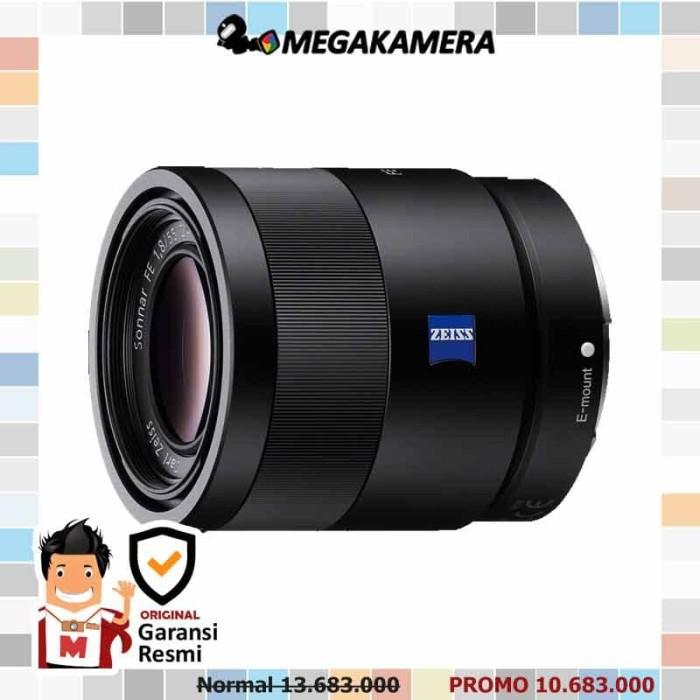 Foto Produk Sony Lens Sonnar T FE 55mm F1.8 ZA dari Megakamera