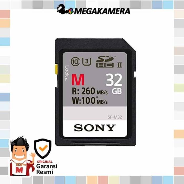 harga Sony sdhc 32gb m series uhs-ii memory card u3 - memori 260mbps Tokopedia.com