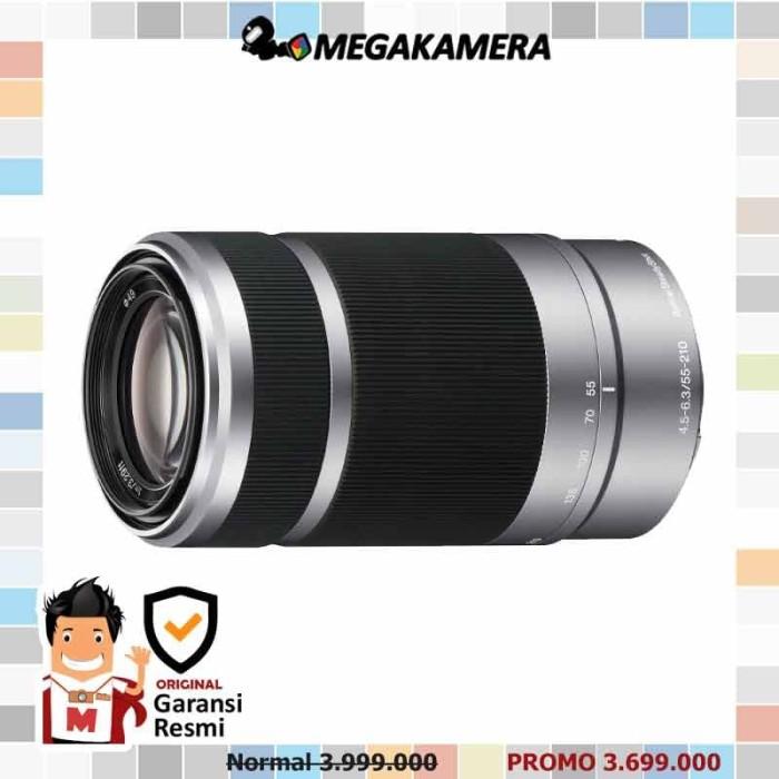 harga Sony lens e 55-210mm f4 5-6.3 oss silver Tokopedia.com