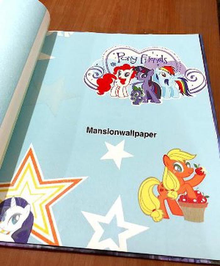 Jual Wallpaper Dinding Anak Kartun Kuda Poni My Little Pony Pink B12wa1169 Jakarta Utara Kaindra1 Tokopedia