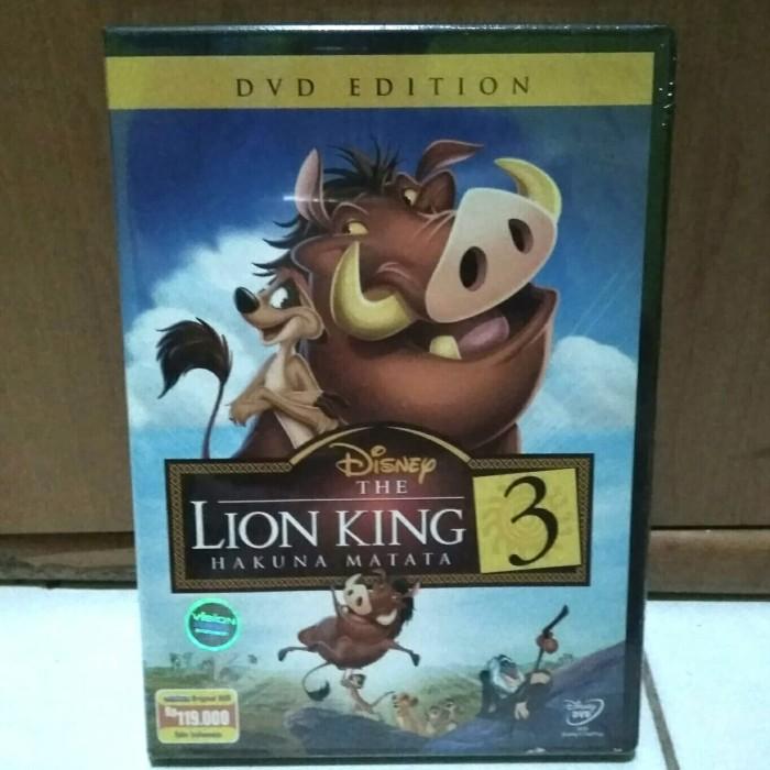 harga Dvd the lion king 3 (original) Tokopedia.com