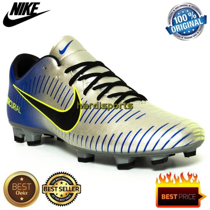 super popular 4ba06 e7144 Jual AJ01 Sepatu Sepakbola Nike Mercurial Victory VI NJR FG 921509407 - DKI  Jakarta - White shop id | Tokopedia