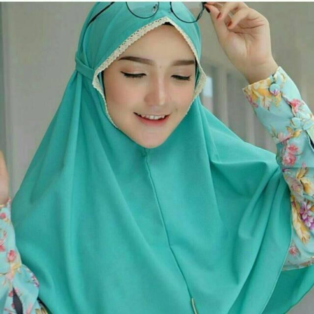 Foto Produk Hijab jilbab AINA ahzar wolfis adem dari tokomearamarva