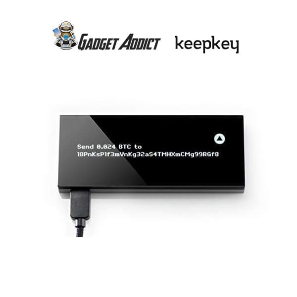 Keepkey The Simple Cryptocurrency Secure Hardware Wallet Black