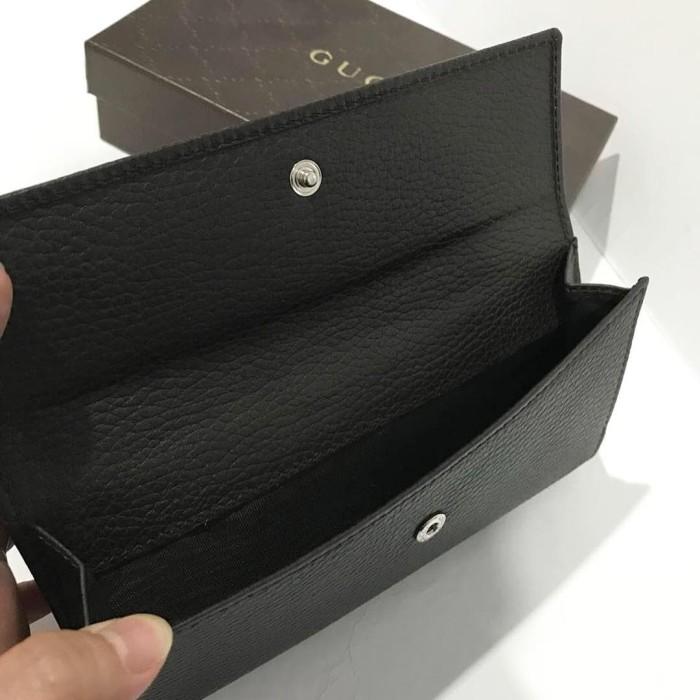 70bebcfd80a1a1 Gucci Wallet Calf Dollar Dark Brown Wallet. Dompet Gucci Original