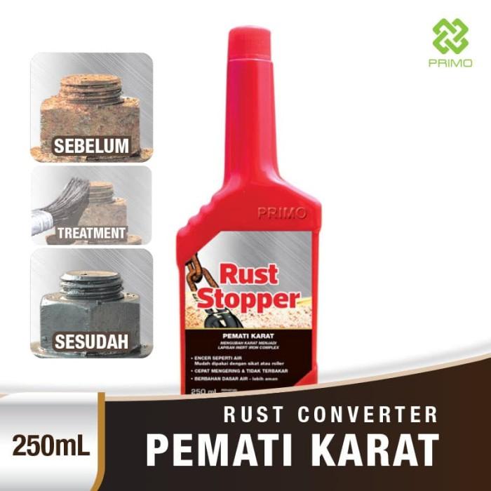 Foto Produk Pemati Karat / Rust Converter PRIMO RUST STOPPER 250ml dari Primo Official Store