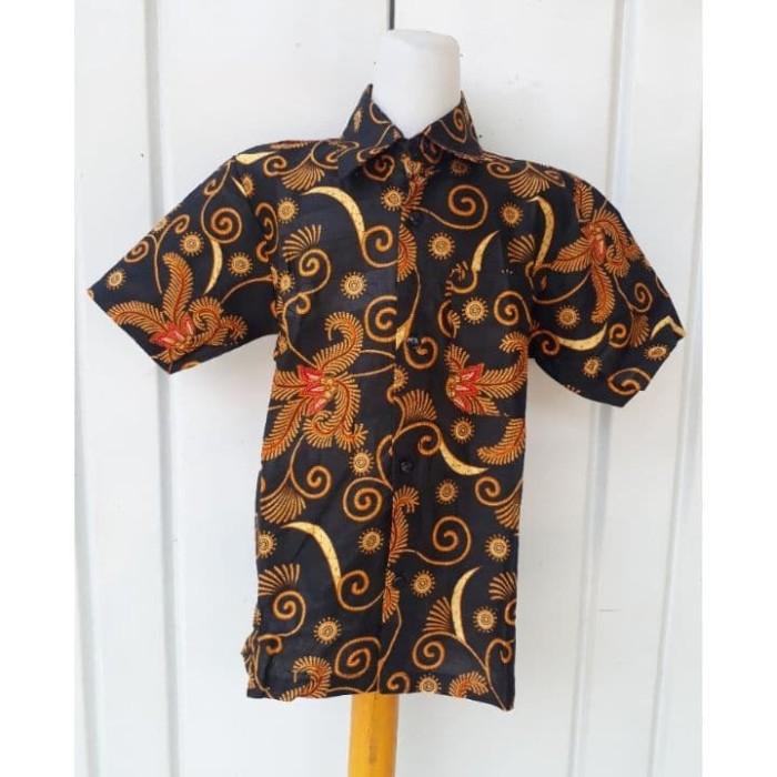 Jual Hem Anak Baju Batik Anak Cowok Kemeja Batik Anak 03 Kota Pekalongan Ilul Sy Batik Tokopedia