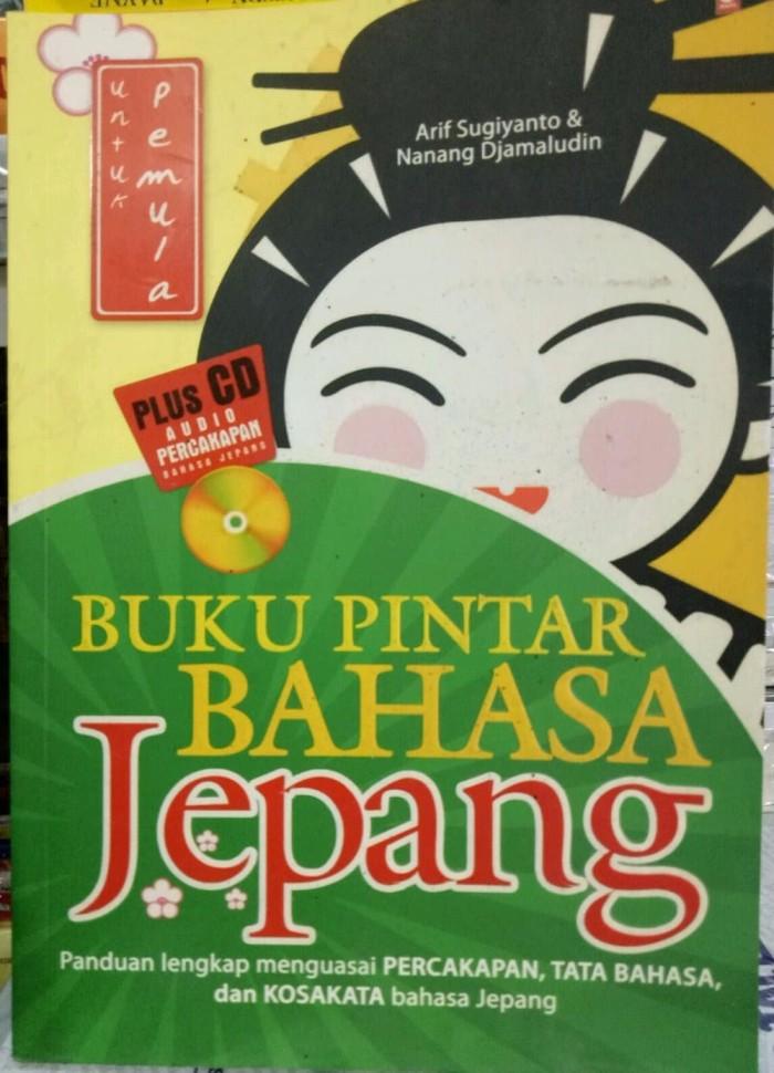 buku pintar bahasa jepang dasar