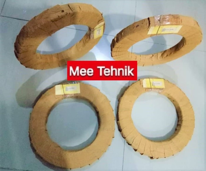 Foto Produk Band Saw Blade / Gergaji Pita LION 25 mm (Sudah Siwar/Setting) dari Mee Online Order