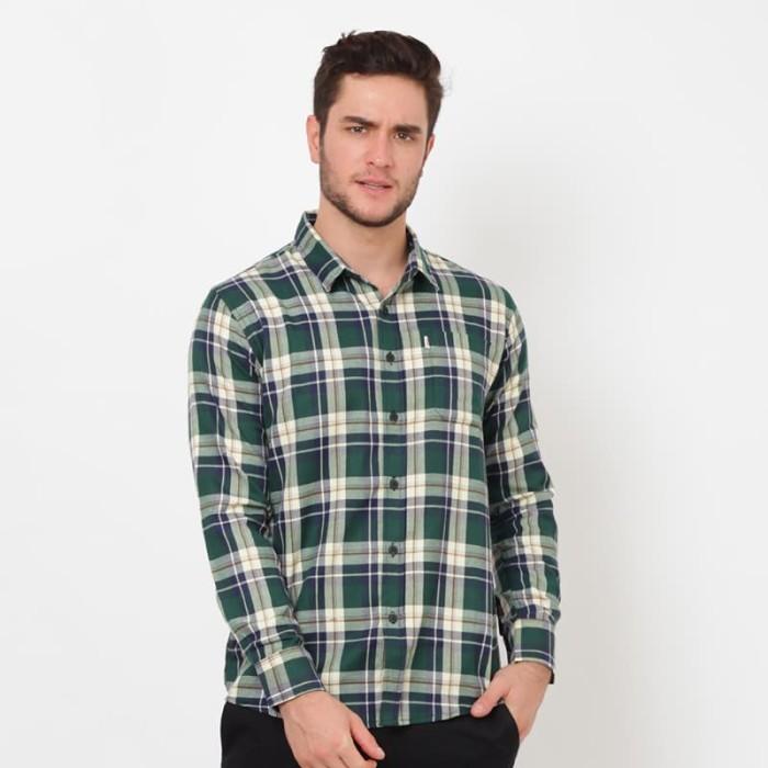 Edwin jeans flannels kevin hijau - hijau xl