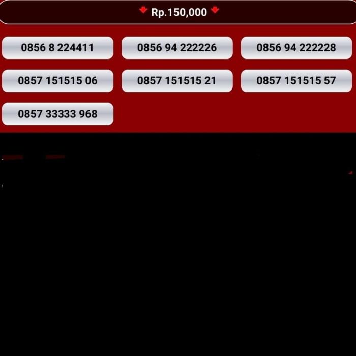 Kartu perdana im3 nomor cantik indosat nocan 10 digit 0816 4g mentari