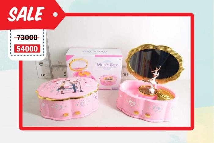 harga Sale! kotak musik box music bulat + laci mtf remaja 9218 fx Tokopedia.com