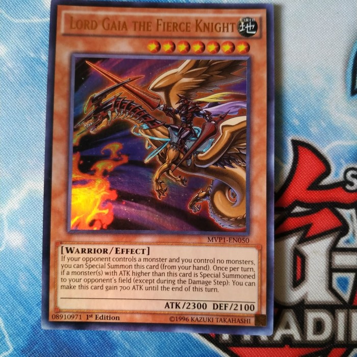 Jual Yugioh Lord Gaia The Fierce Knight Original Jakarta Barat Jprimary Tokopedia