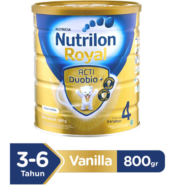 Paket Isi 2 - Nutrilon Royal 4 Vanilla 800gr