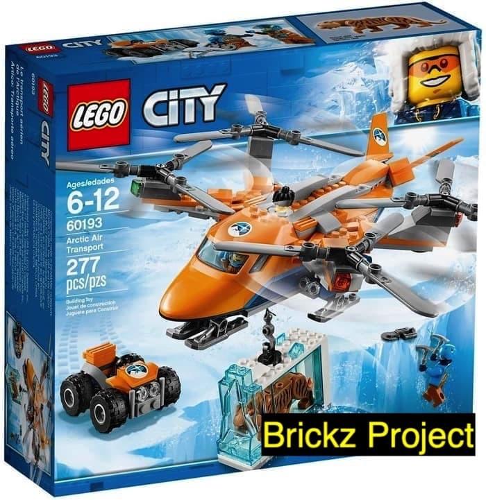 Jual Lego City 60193 Arctic Air Transport - DKI Jakarta - Brickz Project |  Tokopedia