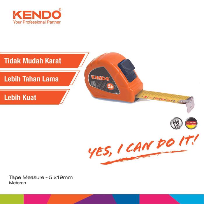 harga Kendo meteran 5 meter x 19mm tape measure kd-35022 Tokopedia.com