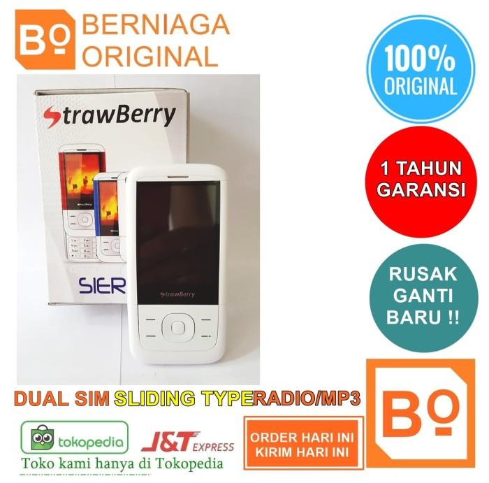 Foto Produk HP Slide Strawberry Termurah Nokia 5300 Nokia 5310 Reborn Original dari Berniaga Original