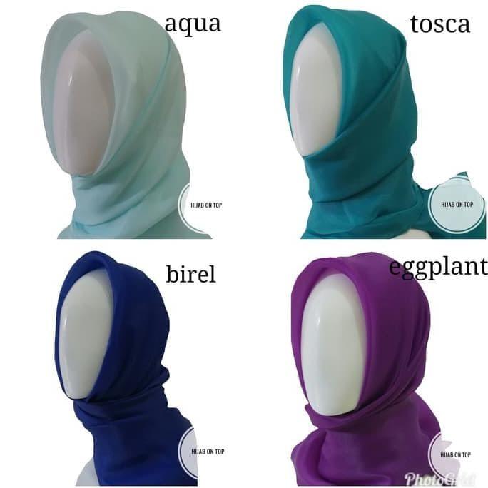 Foto Produk New Jilbab / Hijab / Kerudung Organza Silk Premium!!! - Putih dari illiyinpermatasari store