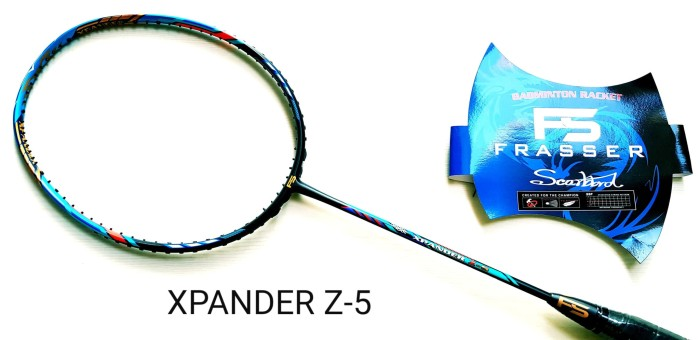 harga Raket badminton frasser xpander z 5 original Tokopedia.com