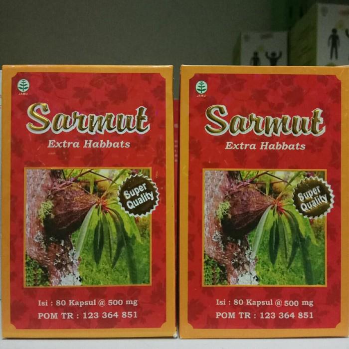 Foto Produk Sarmut Extra habbats 80 Kapsul Sarang Semut Extra Habbat 80 Kapsul dari harga grosir 01
