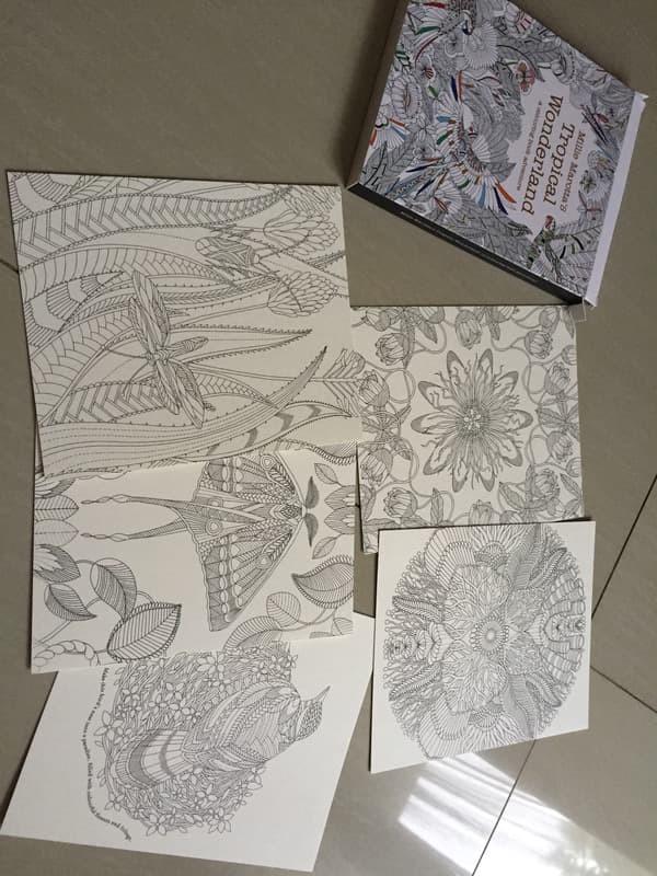 Jual Coloring Book Untuk Dewasa Untuk Stress Relief Kota Depok Nandos Mart Tokopedia