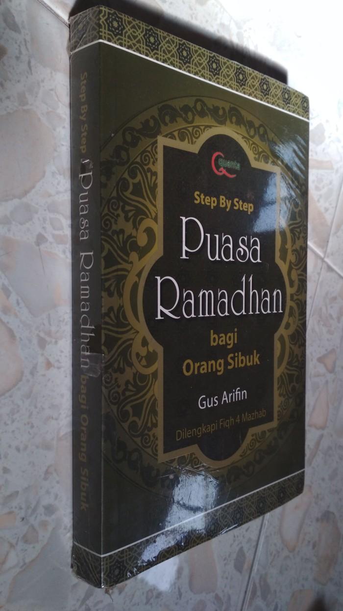 Jual Puasa Ramadhan Bagi Orang Sibuk Kota Pekanbaru Sastra Buku