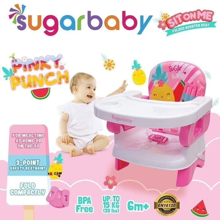 TEMPAT DUDUK BAYI SUGAR BABY BOOSTER SEAT - BANYAK COLOR