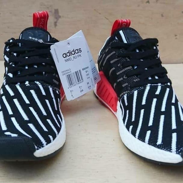 quality design f1388 cd00e Jual ADIDAS NMD R2 PK PRIMEKNIT BLACK WHITE RED ORIGINAL MADE IN VIETNAM -  Kota Tangerang - budjank sneakers | Tokopedia