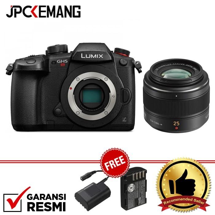 harga Panasonic lumix dc-gh5s body + leica 25mm f/1.4 garansi resmi Tokopedia.com