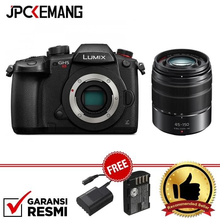 harga Panasonic lumix dc-gh5s + panasonic leica 45mm f/2.8 garansi resmi Tokopedia.com