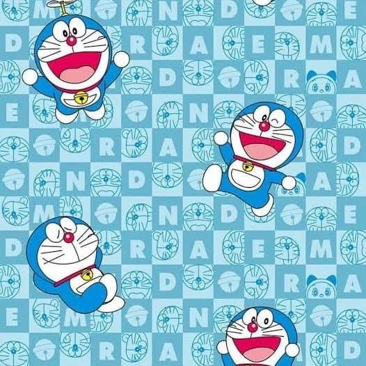 Jual Wallpaper Doraemon Wallpaper Dinding 10m X 45cm Jakarta
