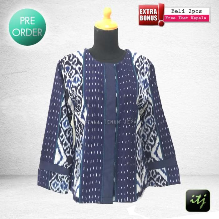 harga Blouse etnik batik cantik tenun troso jepara Tokopedia.com