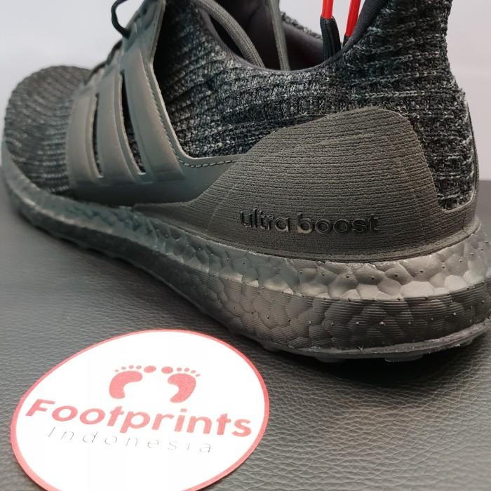 1ba01b51f821 Jual Adidas Ultra Boost 4.0 Triple Black Nubuck Cage 100% Original ...