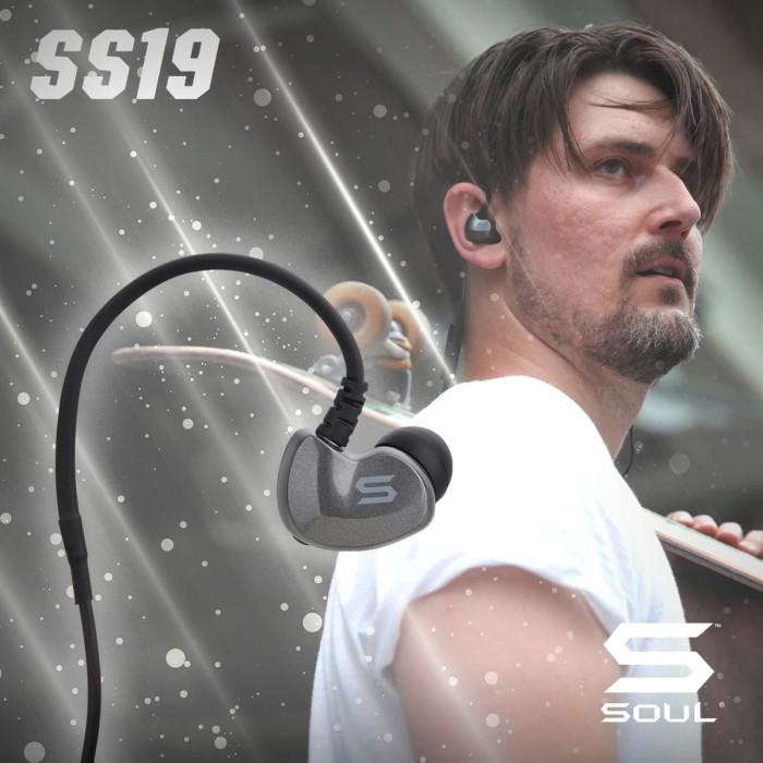 Ss19sl high efficiency earphones with bluetooth - titanium