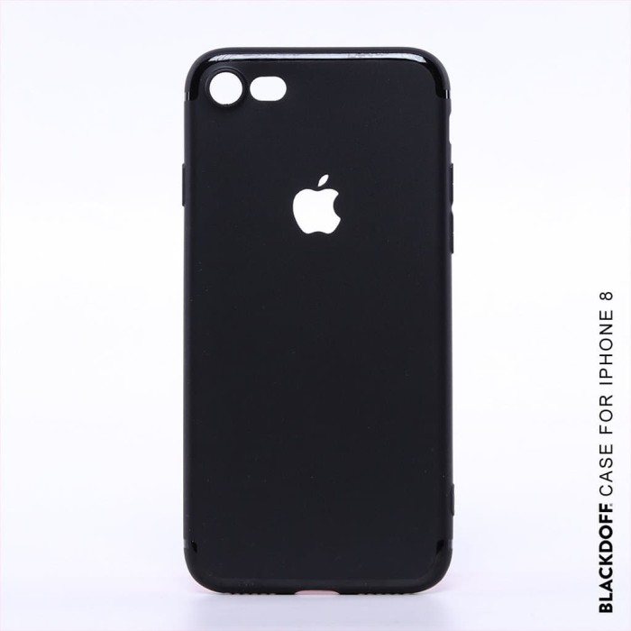 Foto Produk FOR IPHONE 8 - ORIGINAL BLACKDOFF SLIM CASE SOFTCASE SILICON - IPHONE DELAPAN dari LauraStore