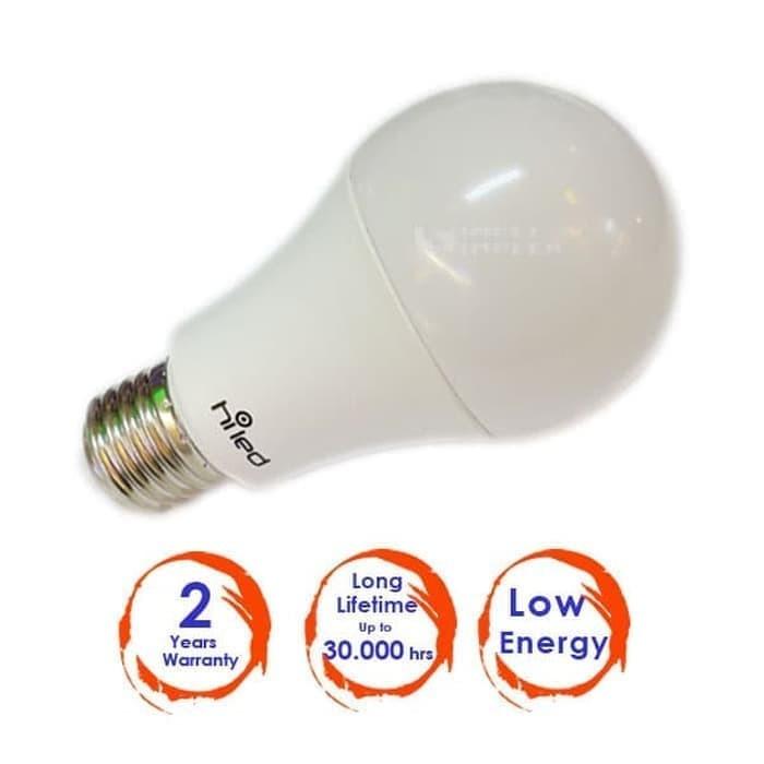 harga Buy 1 get 2 bohlam led hiled bulb 9watt - cool white Tokopedia.com