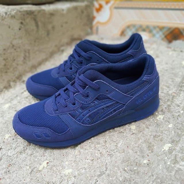 online retailer ca73f 774ad Jual ASICS GEL LYTE 3 INDIGO BLUE ORIGINAL - Kab. Sleman - 4StationFootwear  | Tokopedia