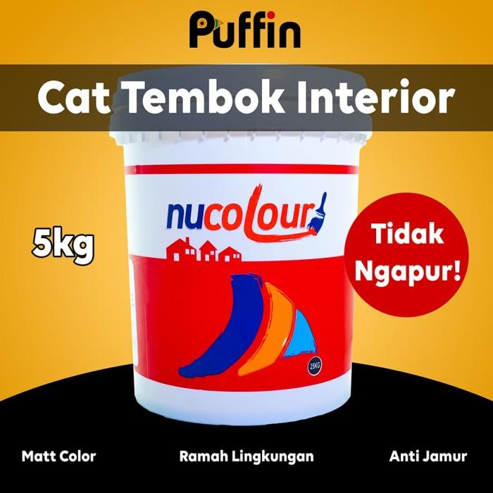 Foto Produk Cat tembok interior Nucolour 5 kg. No ngapur! dari puffinpaint