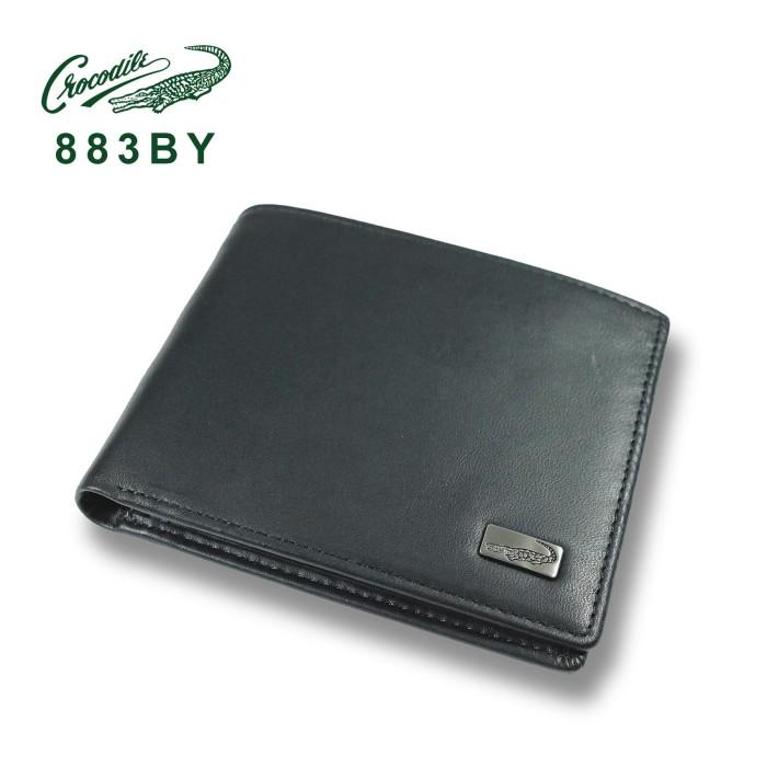 883by dompet pria men wallet leather kulit crocodile original - hitam