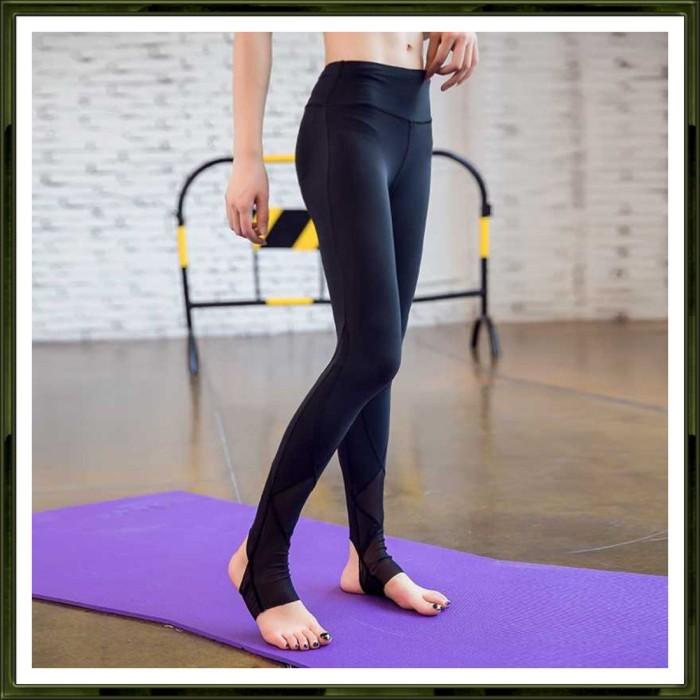 Jual Celana Legging Gym Fitness Yoga Wanita M Hitam Jakarta Barat Lazy Gadget Tokopedia