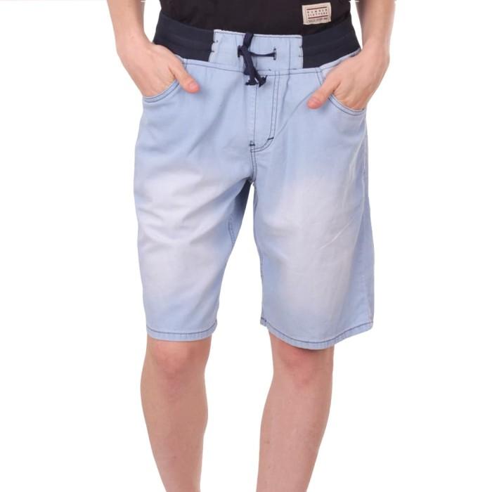 Number 61 official - bawahan pria denni short chinos