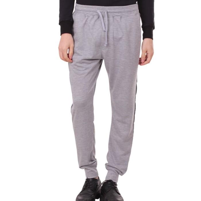 Number 61 official - bawahan pria danis grey jogger pants