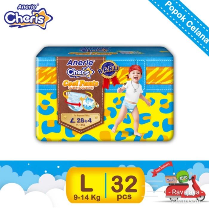 Diapers popok bayi anerle cheris l28+4
