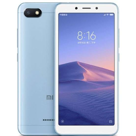 harga Xiaomi Redmi 6A 2/16GB - Blue - Biru Tokopedia.com